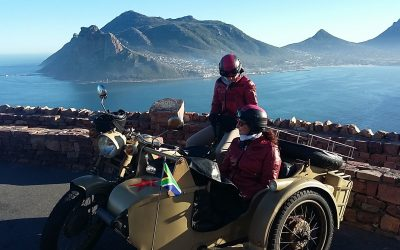 Exploring Cape Town in sidecar style!